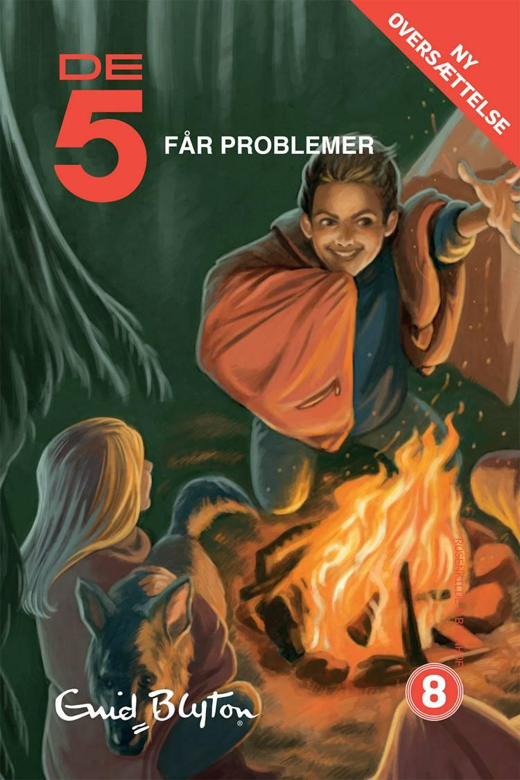 De 5 får problemer af Enid Blyton