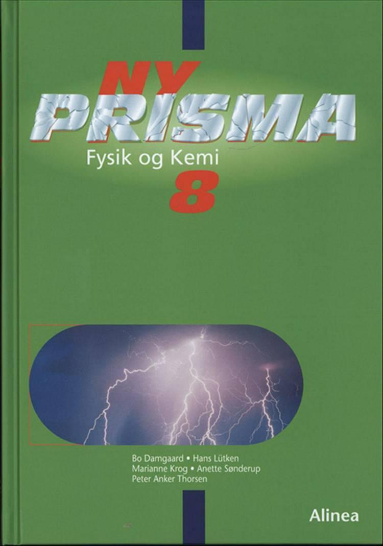 Ny Prisma 8 af Hans Lütken, Bo Damgaard, Anette Sønderup, Peter Albrekt og Marianne Krog m.fl.