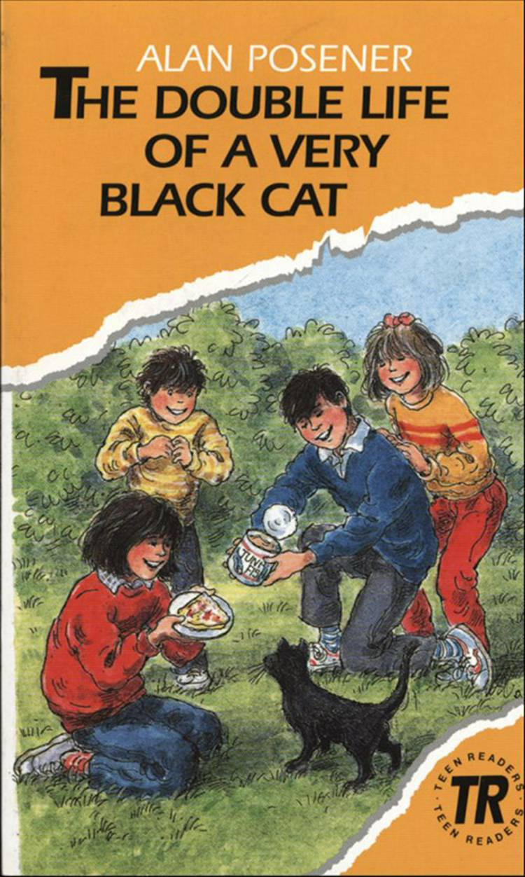 The double life of a very black cat & The big tree af Alan Posener