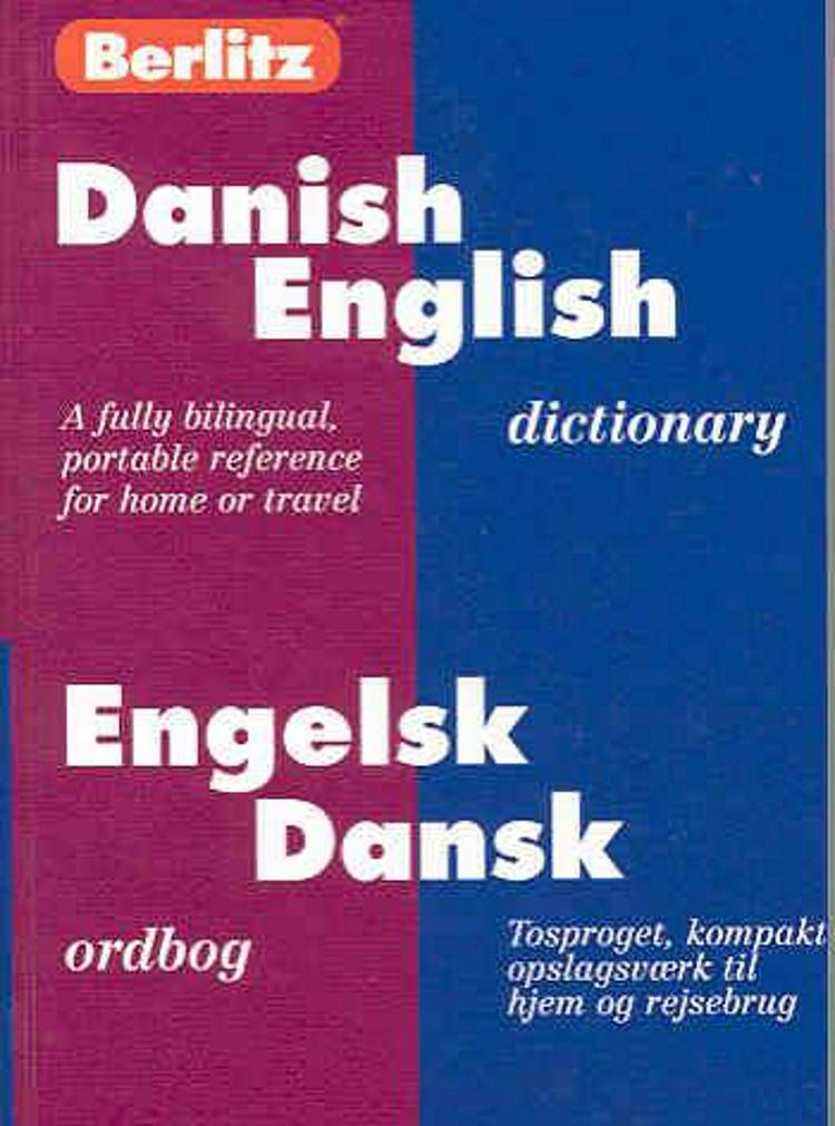 Dansk/engelsk - engelsk/dansk ordbog