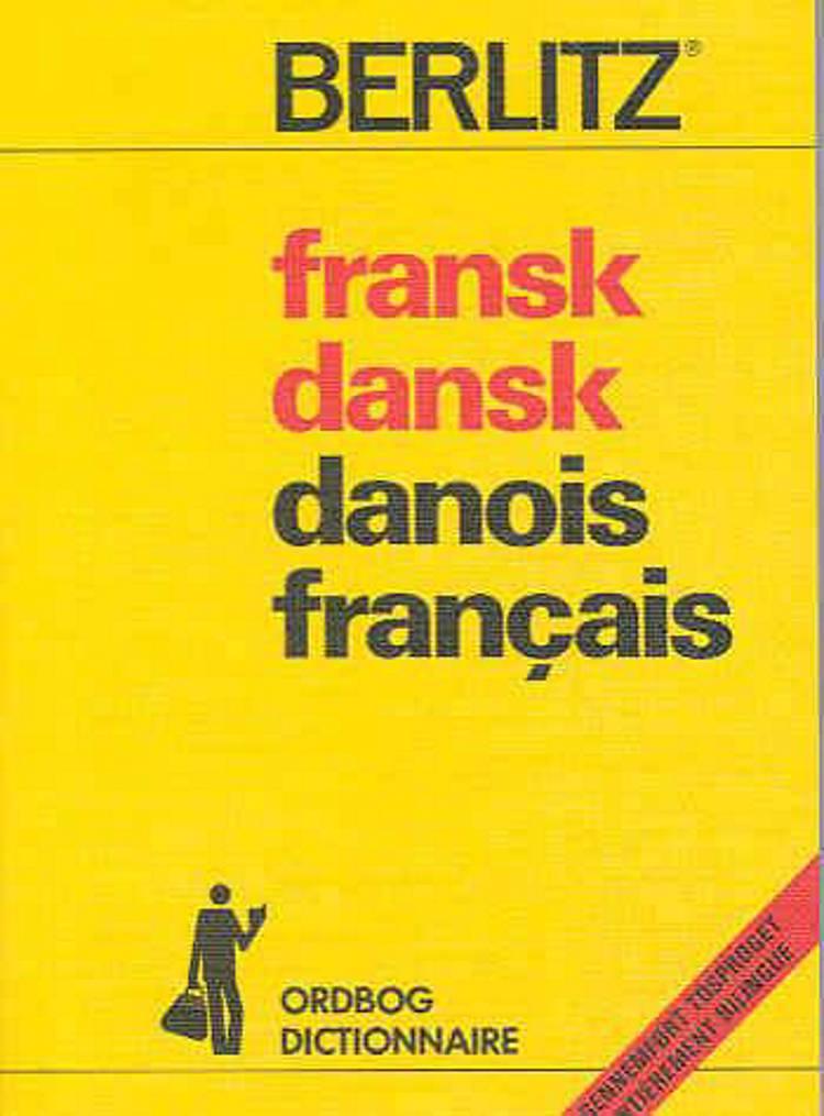 Fransk-dansk, dansk-fransk ordbog af Ea Tryggvason Bay