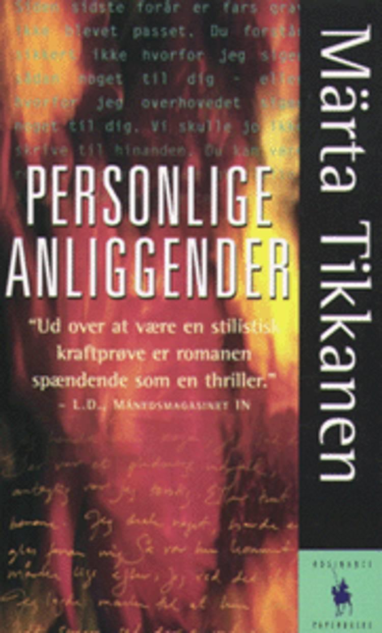 Personlige anliggender af Märta Tikkanen