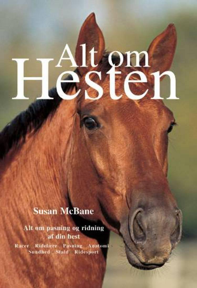 Alt om hesten af Susan McBane