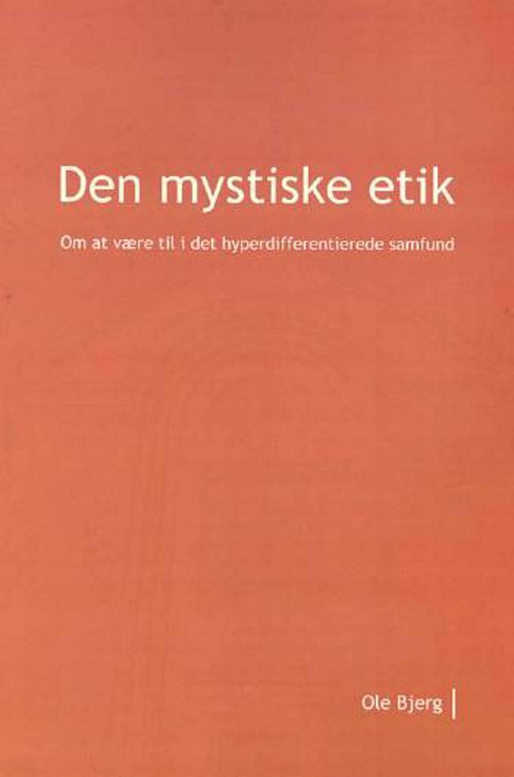 Ph.D.-afhandling af Ole Bjerg