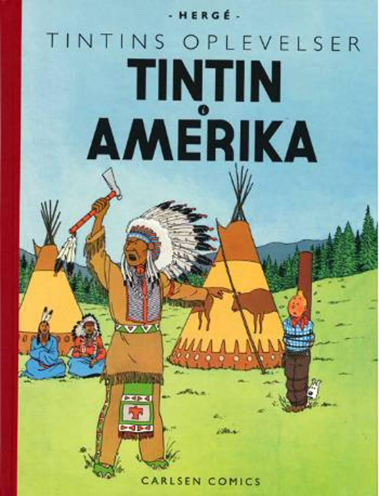 Tintin i Amerika af Hergé