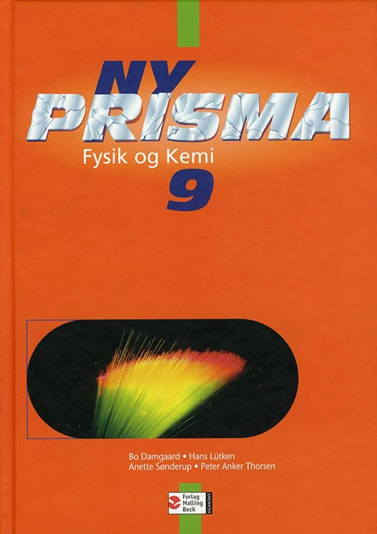 Ny Prisma 9 af Hans Lütken, Bo Damgaard, Anette Sønderup, Peter Albrekt og Hans Lüthen m.fl.