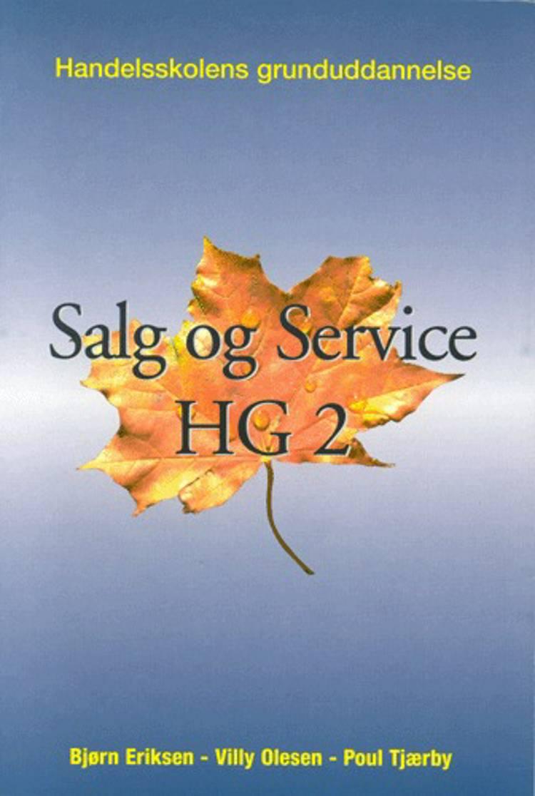 Salg & service - niveau D & C, HG af Villy Olesen, Poul Tjærby og Bjørn Eriksen