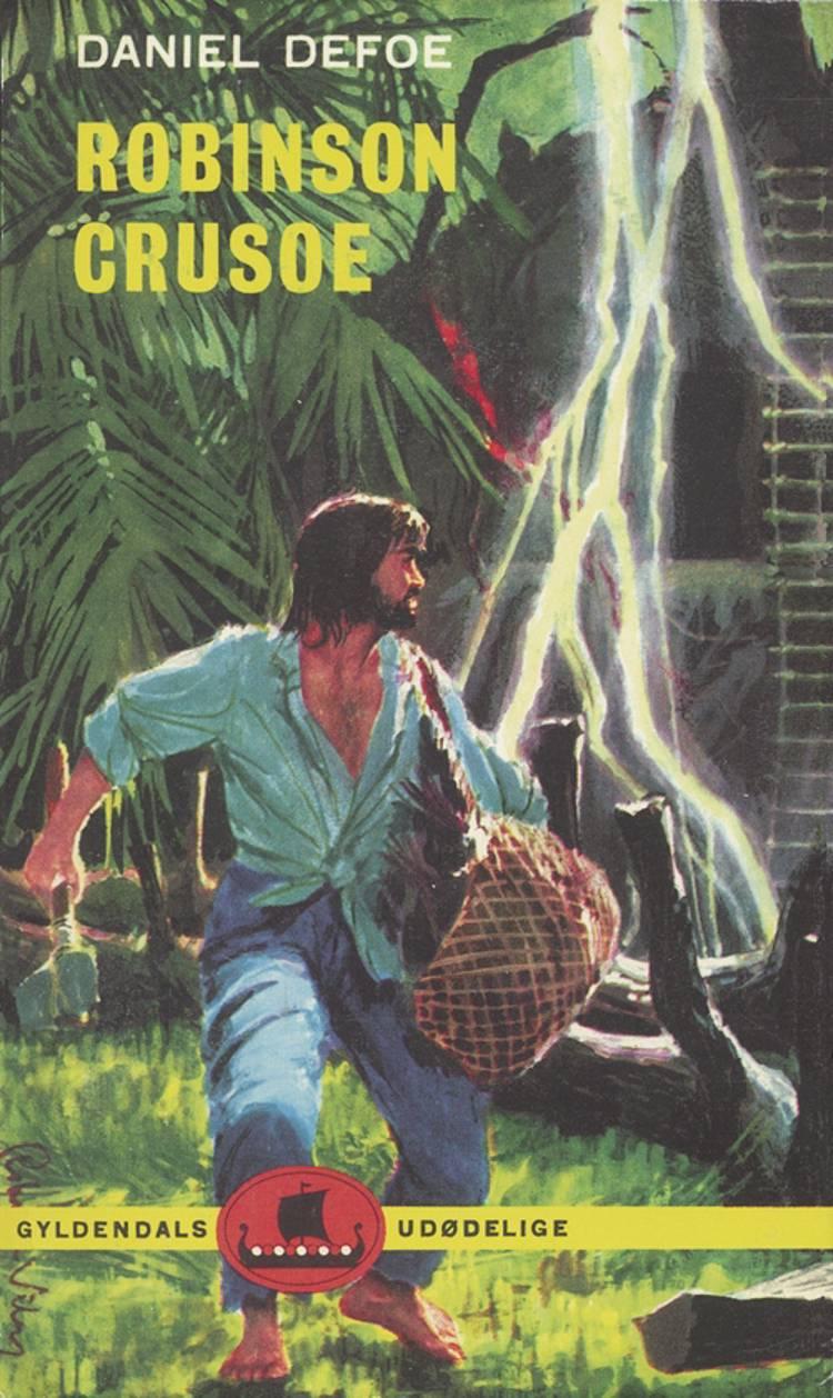 Robinson Crusoe (forkortet udgave) af Daniel Defoe
