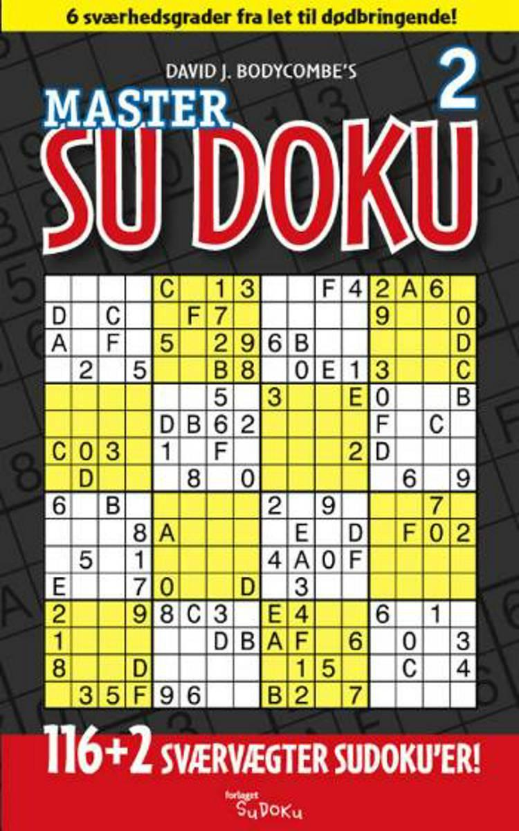 Master Su Doku nr. 2 af David J. Bodycombe