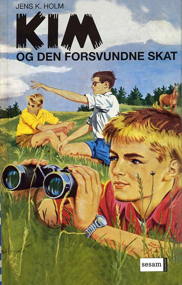 Kim og den forsvundne skat af Jens K. Holm
