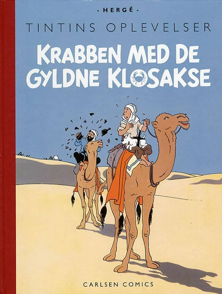 Krabben med de gyldne klosakse af Hergé