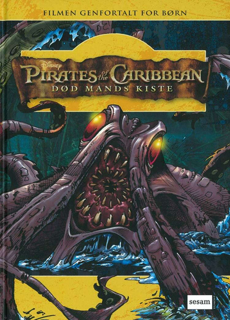 Død mands kiste af baseret på Walt Disney´s Pirates of the Caribbean og Irene Trimble