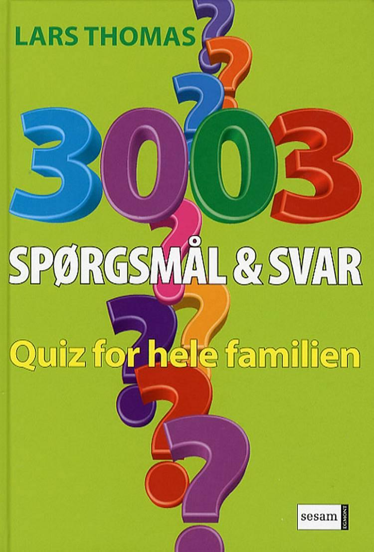 3003 spørgsmål og svar af Lars Thomas