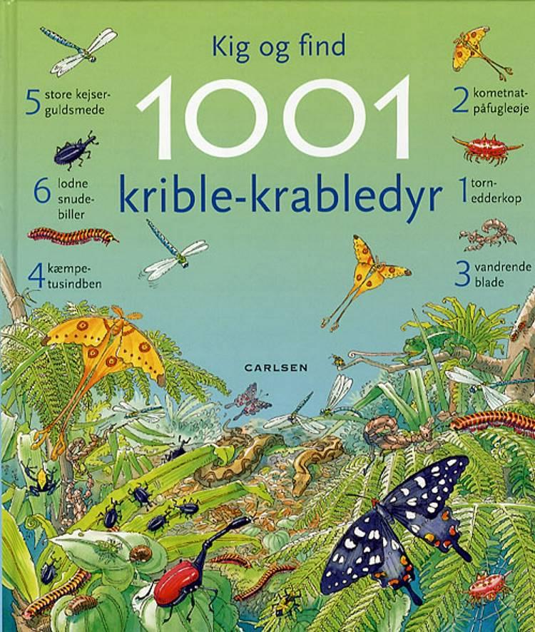 Kig og find 1001 krible-krabledyr af Emma Helbrough