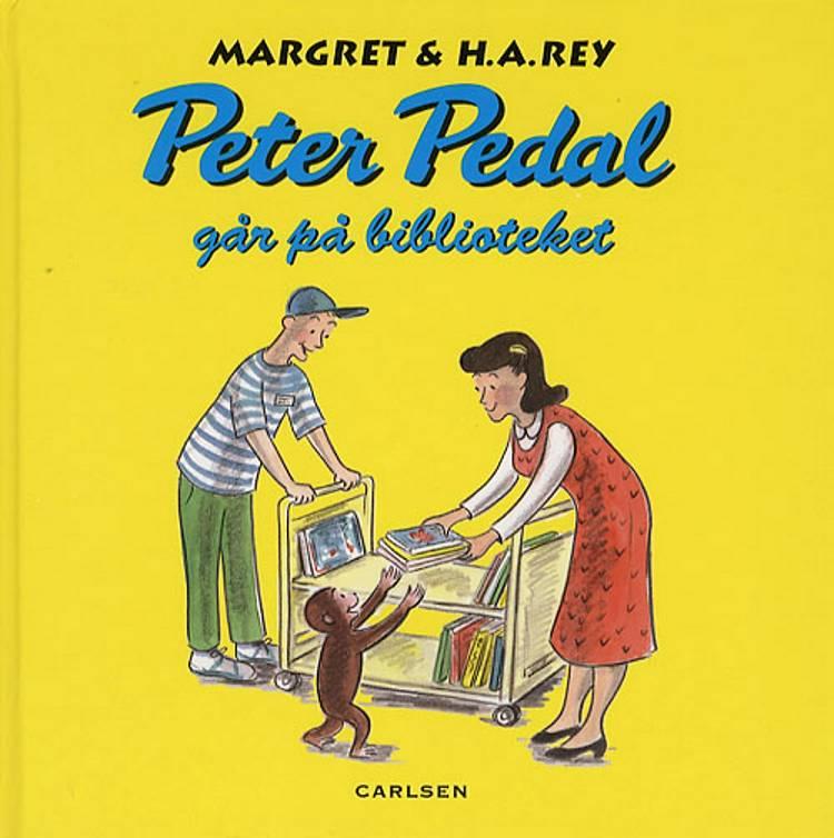 Peter Pedal går på biblioteket af H.A. Rey, Margret Rey og Margret