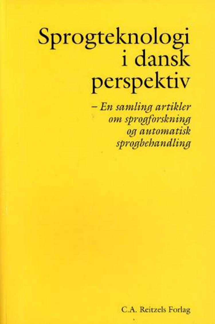 Sprogteknologi i dansk perspektiv