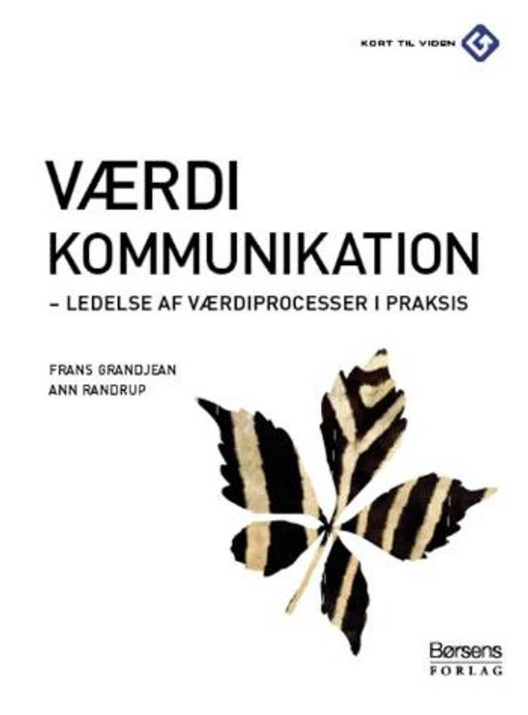 Værdikommunikation af Frans Grandjean og Ann Randdrup