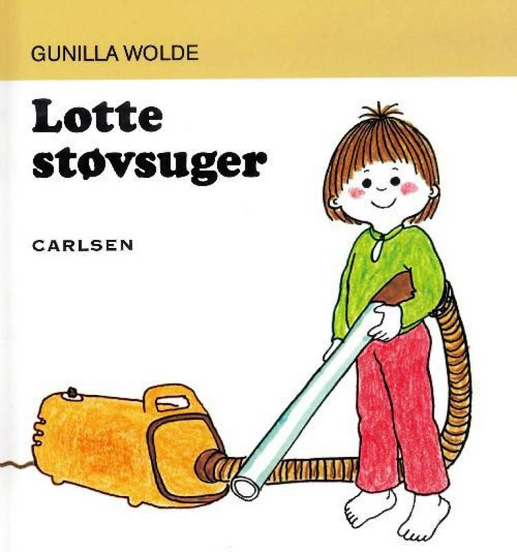 Lotte støvsuger af Gunilla Wolde