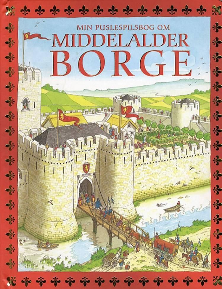 Min puslespilsbog om middelalderborge af Alice Pearcey