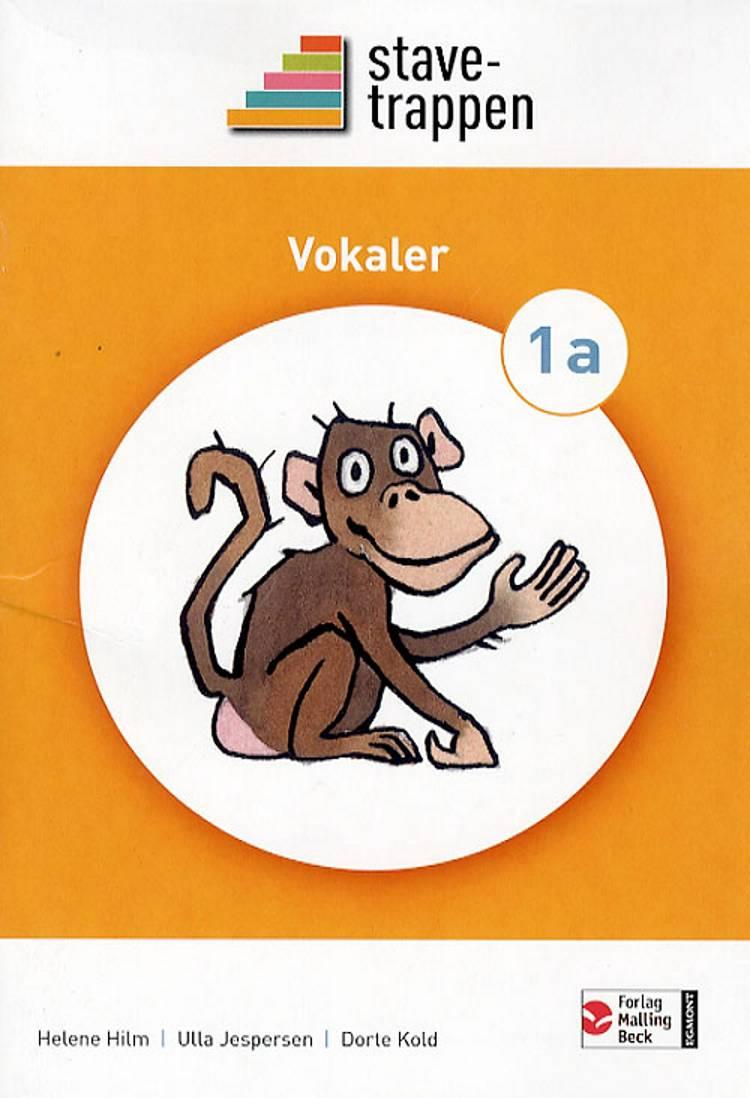 Stavetrappen 1 Konsonanter af Dorte Kold, Helene Hilm og Ulla Jespersen