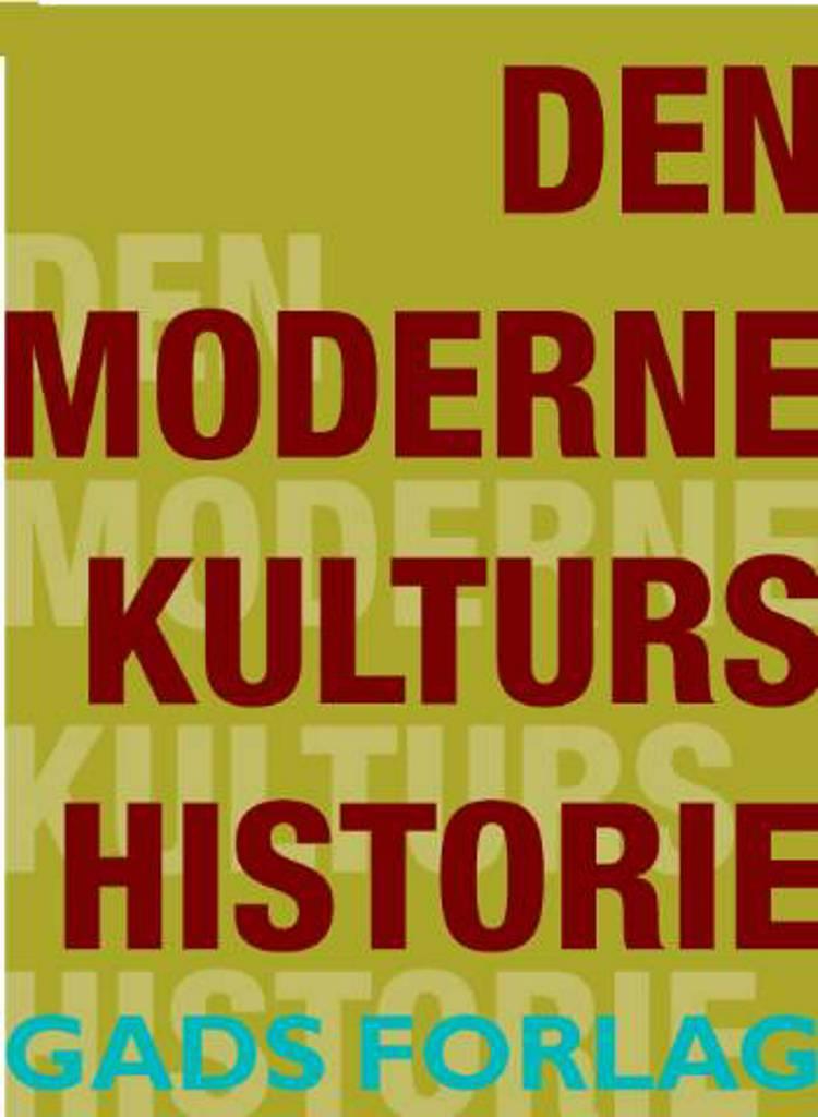 Den moderne kulturs historie af Theodor W. Adorno