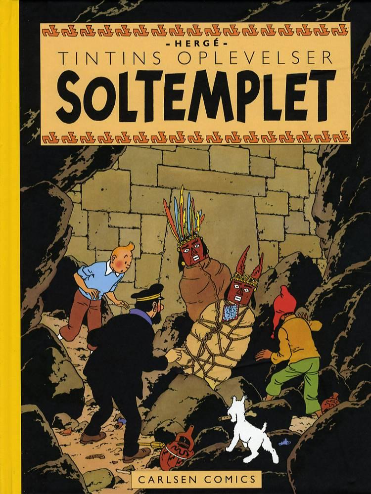 Soltemplet af Hergé