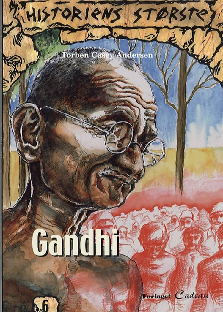 Gandhi af Torben Casey Andersen