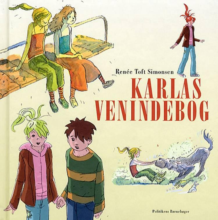 Karlas venindebog af Renée Toft Simonsen