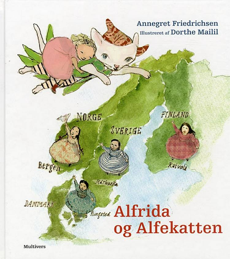 Alfrida og Alfekatten af Annegret Friedrichsen