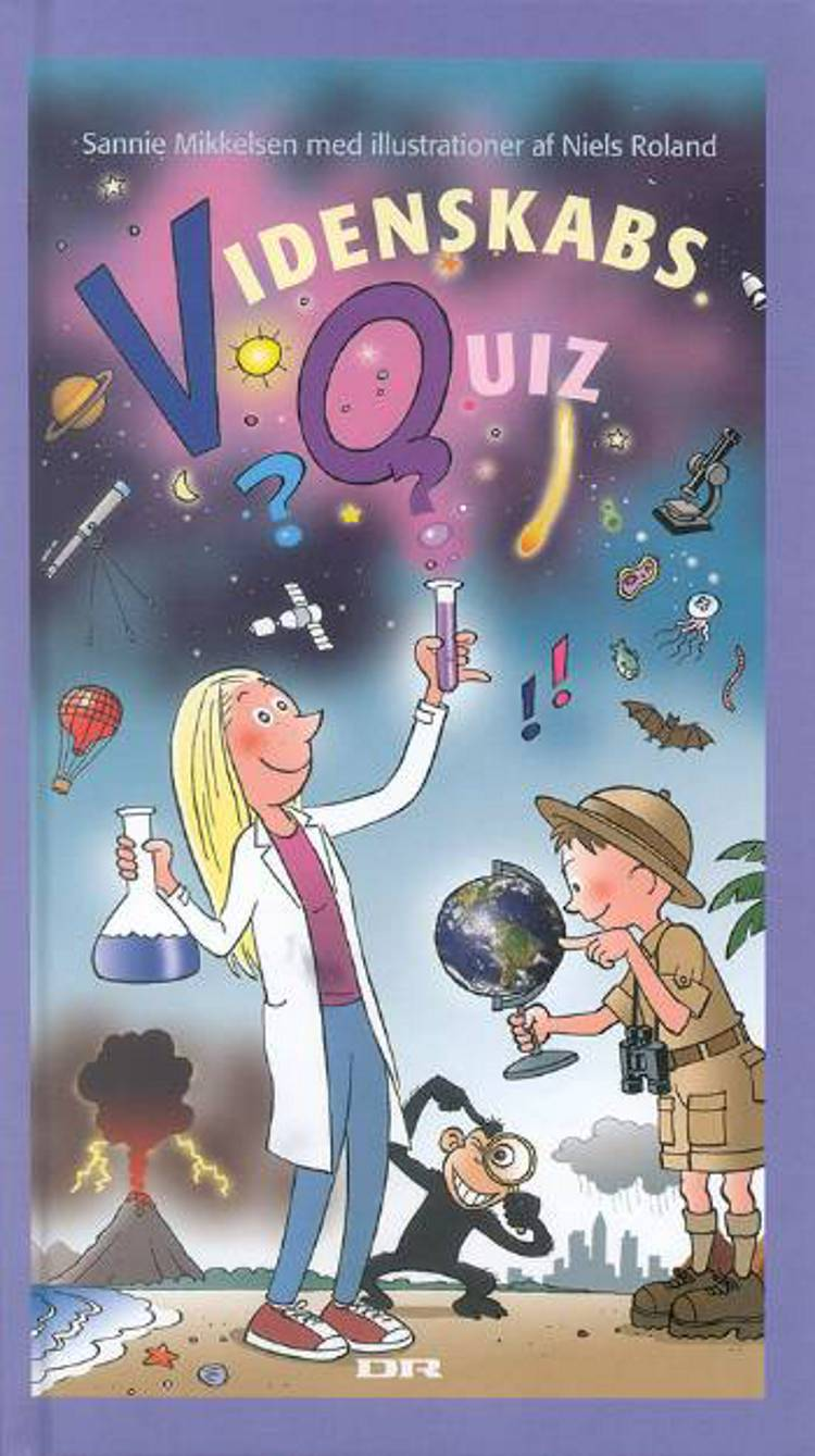 Videnskabsquiz af Sannie Mikkelsen og Sannie Wessel Mikkelsen
