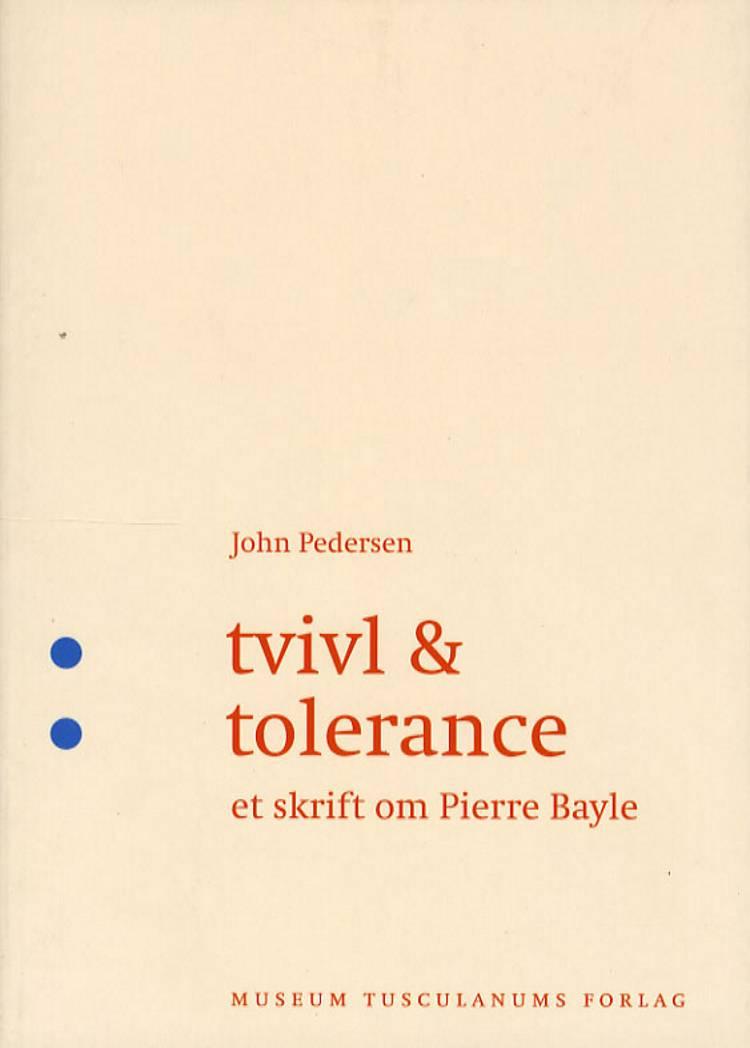 Tvivl og tolerance af John Pedersen
