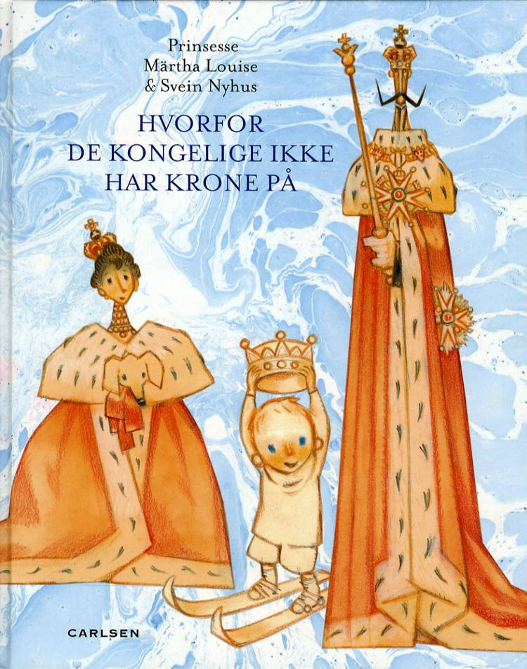 Hvorfor de kongelige ikke har krone på af Prinsesse og Prinsesse Märtha Louise
