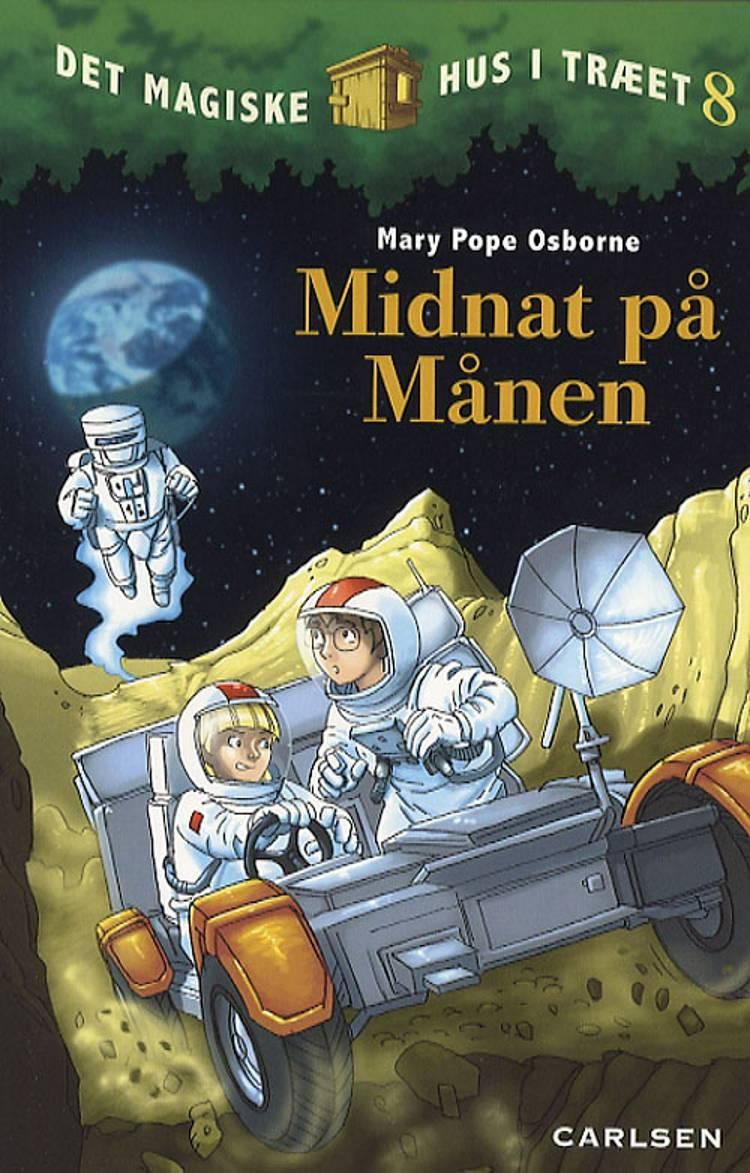 Midnat på månen af Mary Pope Osborne