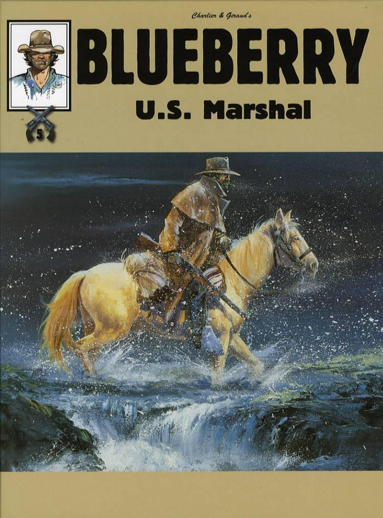 Blueberry - U.S. marshal af Jean Giraud