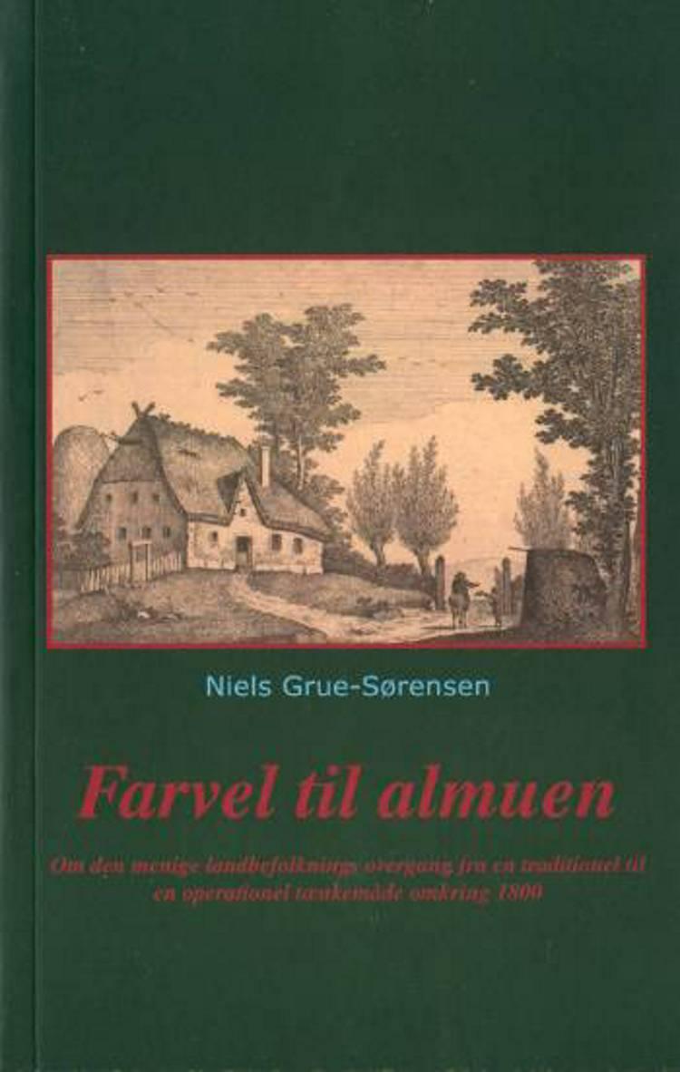 Farvel til almuen af Niels Grue-Sørensen