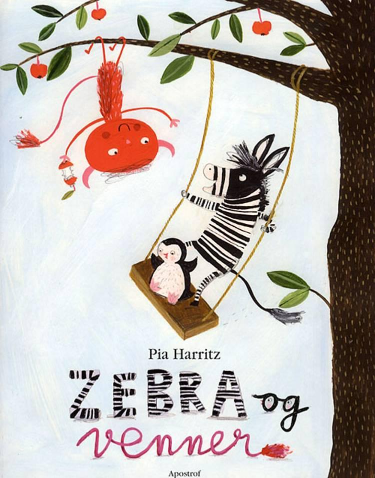 Zebra og venner af Pia Harritz