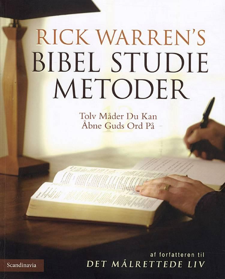 Bibel studie metoder af Rick Warren