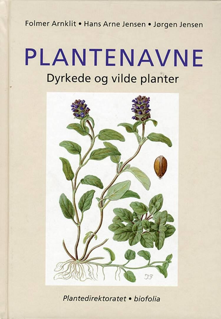 Plantenavne af Jørgen Jensen, Hans Arne Jensen og Folmer Arnklit