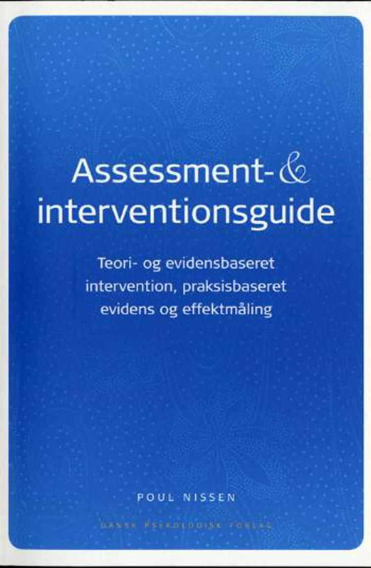 Assessment- & interventionsguide af Poul Nissen