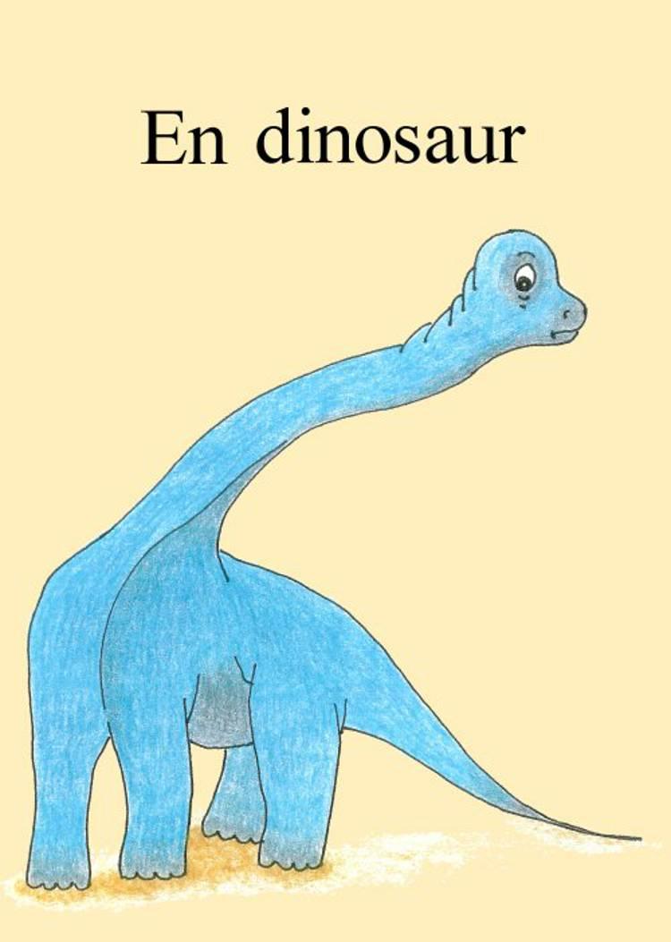 En dinosaur af Grethe Nørgaard