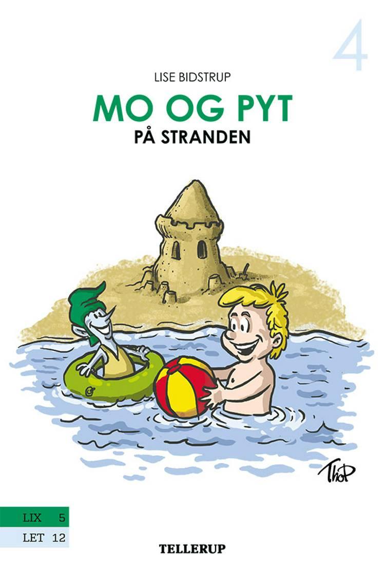 Mo og Pyt på stranden af Lise Bidstrup