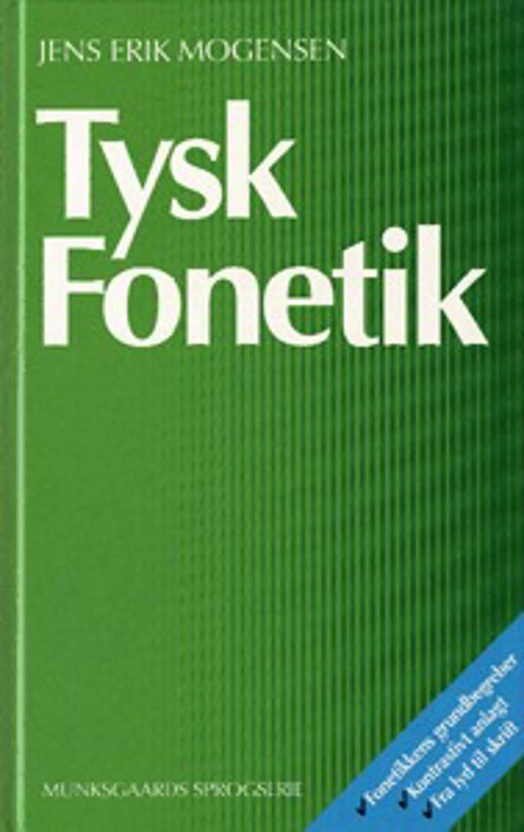 Tysk fonetik af Jens Erik Mogensen