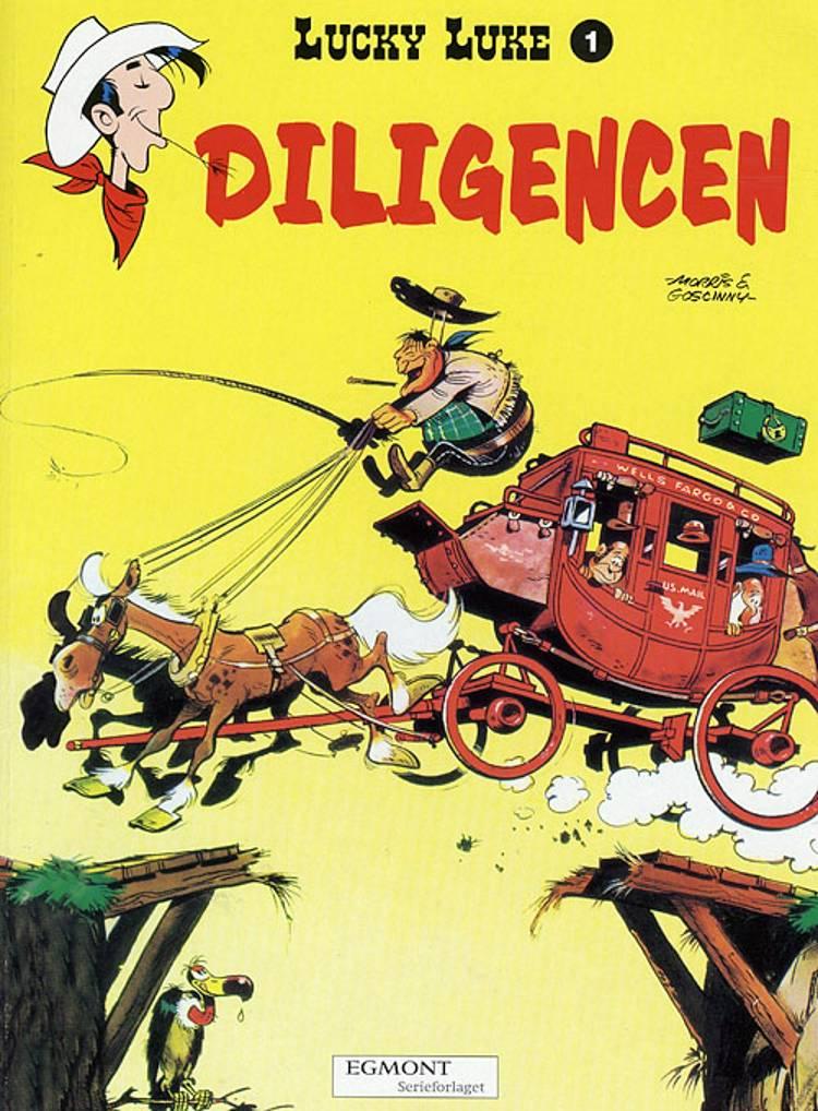 Diligencen af René Goscinny og Morris