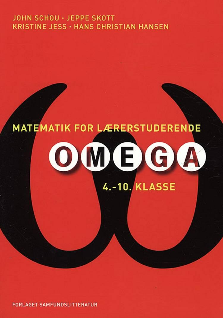 Matematik for lærerstuderende af Hans Christian Hansen, Kristine Jess og John Schou m.fl.
