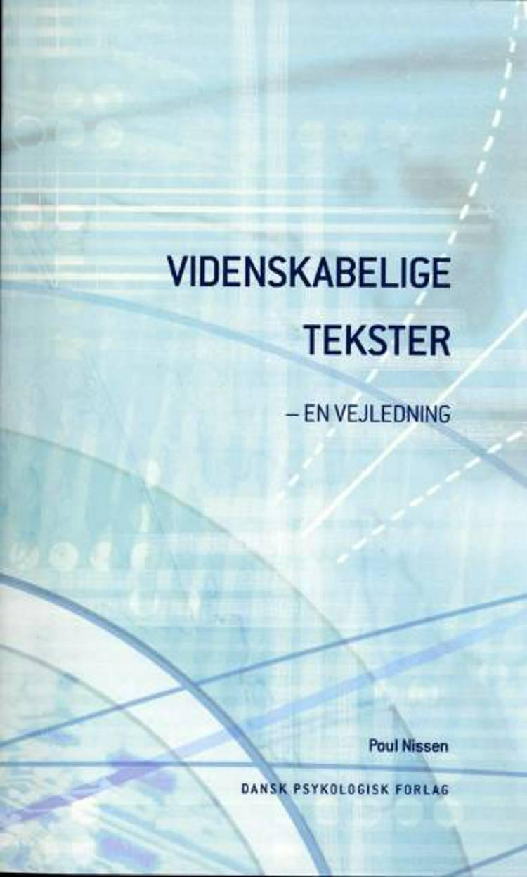 Videnskabelige tekster af Poul Nissen