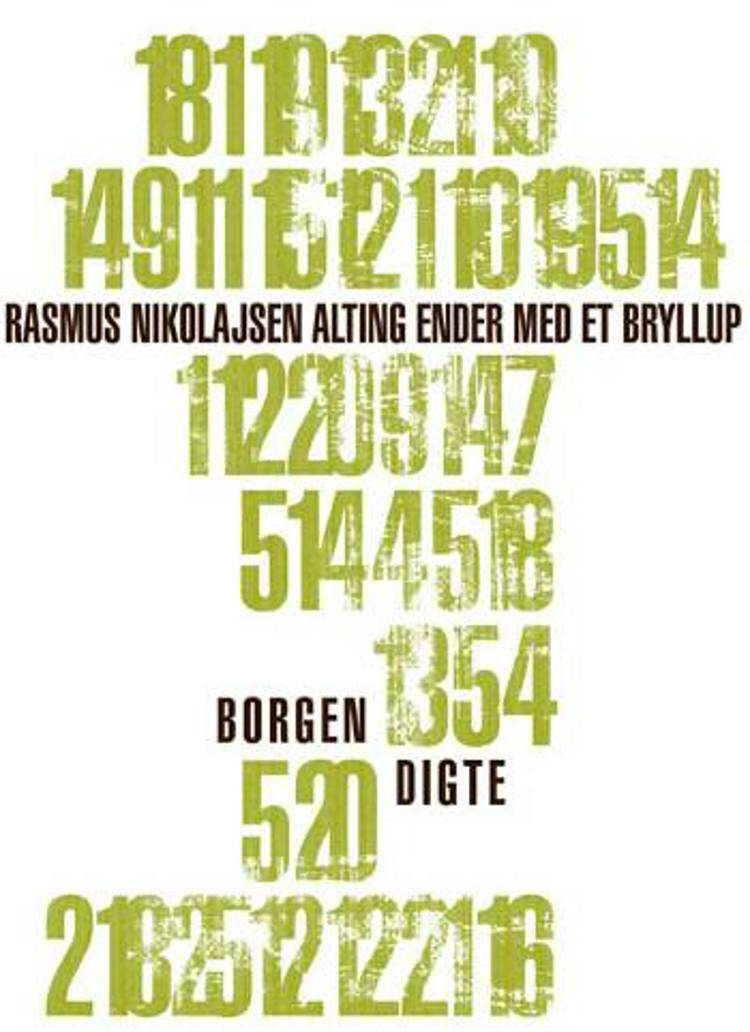 Alting ender med et bryllup af Rasmus Nikolajsen