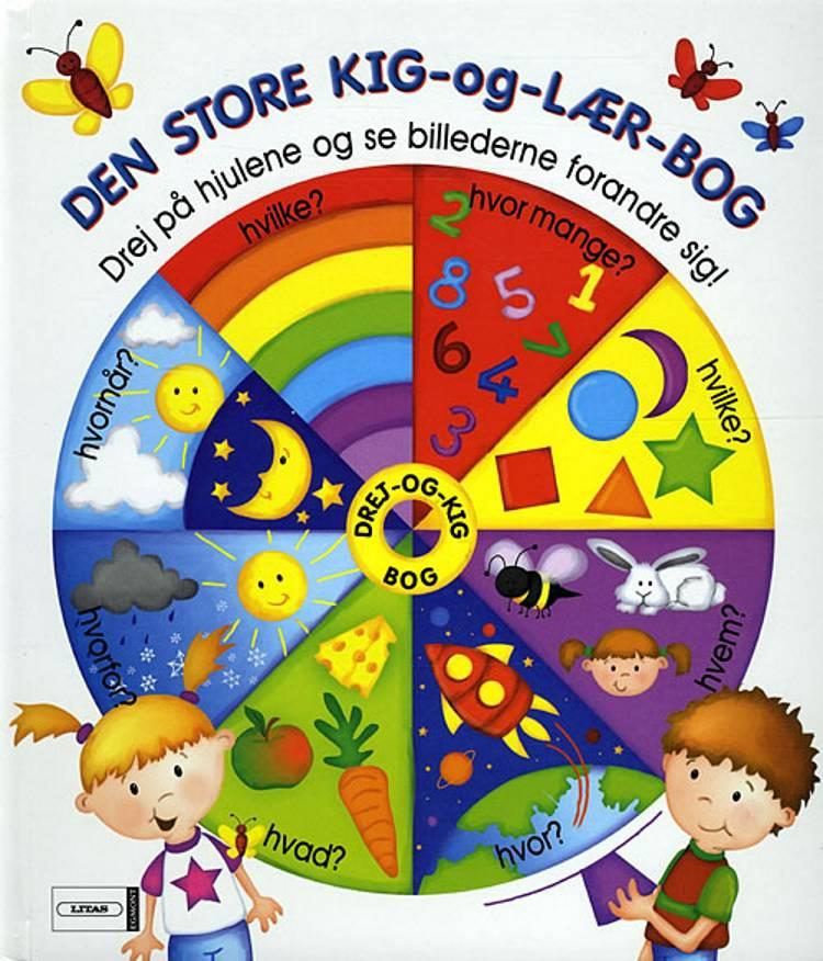Den store kig-og-lær-bog af Nicola Baxter