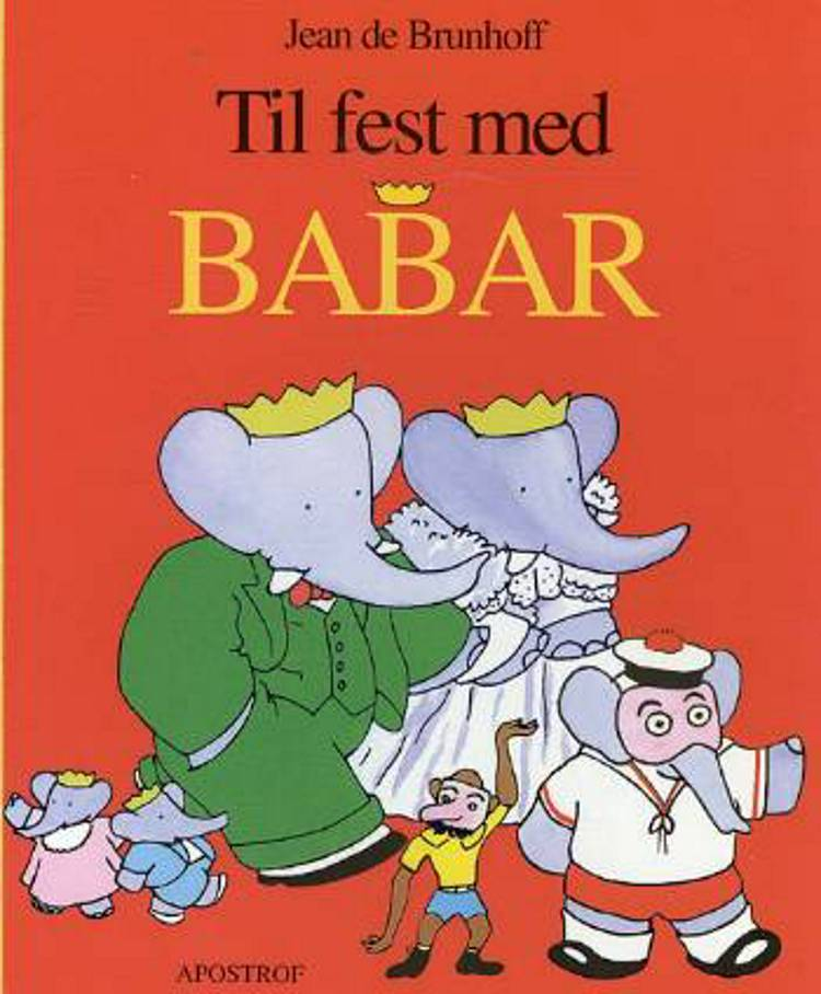 Til fest med Babar af Jean de Brunhoff