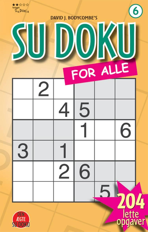 Sudoku for alle 6 af David J. Bodycombe
