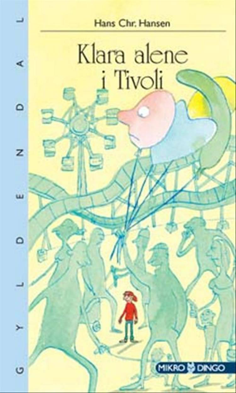 Klara alene i Tivoli af Hans Chr. Hansen